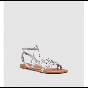 Zara star sandals